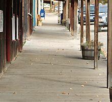 """Ghost Town Boardwalk"" by Lynn Bawden"