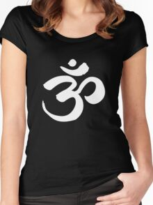 Om Women's Fitted Scoop T-Shirt