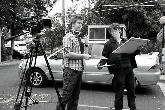 'The Phenomenon' production still- Matt and Dave by Kate Pudim - Ingenue Photography
