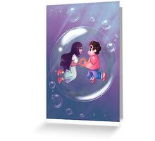 Steven Universe : Bubble Buddies Greeting Card