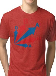 obama : all signs point to... Tri-blend T-Shirt