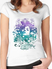 Lust for Life iii Women's Fitted Scoop T-Shirt