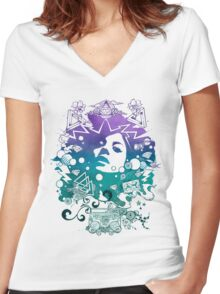 Lust for Life iii Women's Fitted V-Neck T-Shirt
