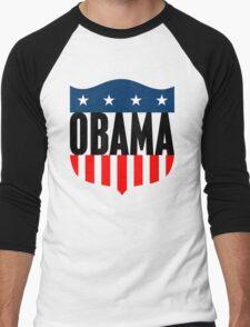 obama : stars & stripes Men's Baseball ¾ T-Shirt