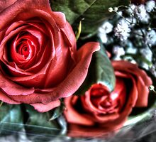 Bouquet with red roses 10 by AnnArtshock