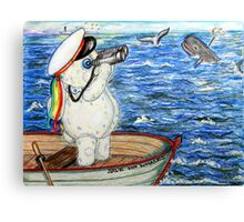 Pooky Saving the Whales Canvas Print