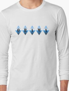 obama : diamonds Long Sleeve T-Shirt