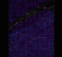 Maine USGS Historical Map St John 103005 1985 24000 Inversion by wetdryvac