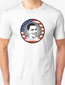 obama : us flag Unisex T-Shirt