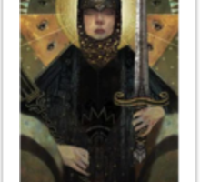 Dragon Age Inquisition Cassandra Tarot card 3 Sticker
