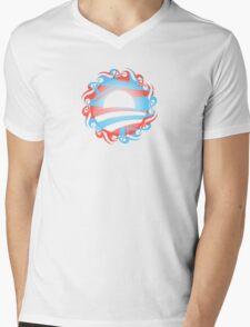 barack obama : tribal Mens V-Neck T-Shirt