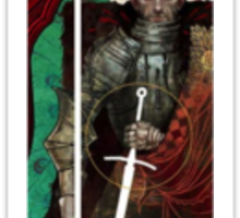 Dragon Age Inquisition Cullen Tarot card Sticker