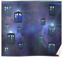 Tardis For Leggings & Pencil Skirts Poster