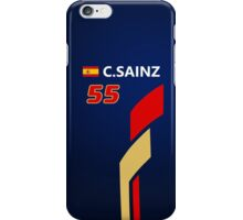 F1 2015 - #55 Sainz iPhone Case/Skin