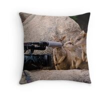 No Comment please... Throw Pillow