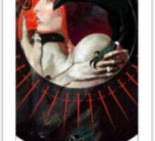 Dragon Age Inquisition Leliana Tarot card Sticker