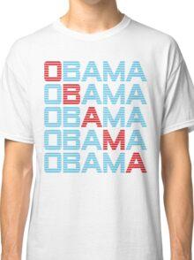 obama : text stacks Classic T-Shirt