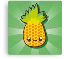 Cute Pineapple Canvas Print