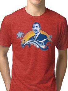obama : summersetz Tri-blend T-Shirt