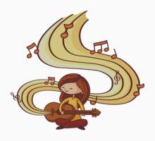 Music is Life Shirt (digital) Baby Tee