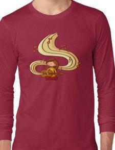Music is Life Shirt (digital) Long Sleeve T-Shirt