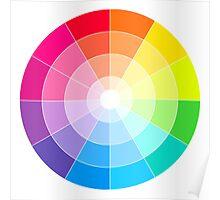 The Colour Wheel Poster