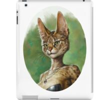Fluffy Pretty Cat iPad Case/Skin