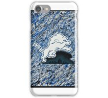 Blue and Silver iPhone Case/Skin