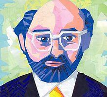 Allen Ginsberg by EllenPater