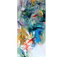 Crescendo , Abstract Leggings from original painting by Madeleine Kelly Photographic Print