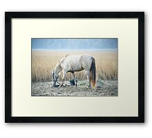 Waves of Wheat Framed Print