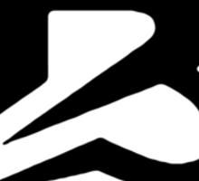 Brava (black) Sticker