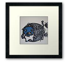 Mugshots: Yeti Framed Print