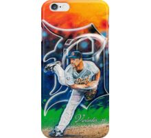 "Justin Verlander ""Smokin"" iPhone Case/Skin"