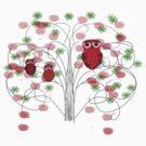 Christmas Owl by lily pang
