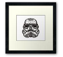 dia de los storm trooper Framed Print