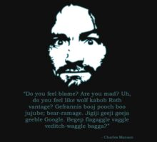 Manson Quote by cafebunny