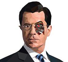 Stephen Colbert Terminator by rywhal