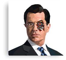 Stephen Colbert Terminator Canvas Print