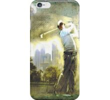 Rory McIlroy In Dubai iPhone Case/Skin