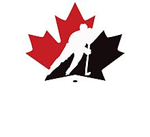 Canada Hockey team  Photographic Print