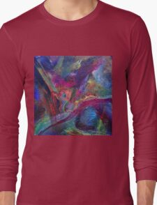 """Autumn River"" original artwork Long Sleeve T-Shirt"