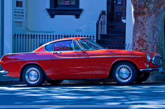 1966 Red Volvo Classic by Mark Richards