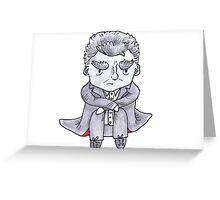 Grumpy Capaldi Greeting Card
