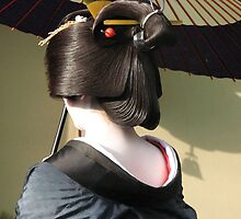 Geisha in Kyoto by Christie Harvey