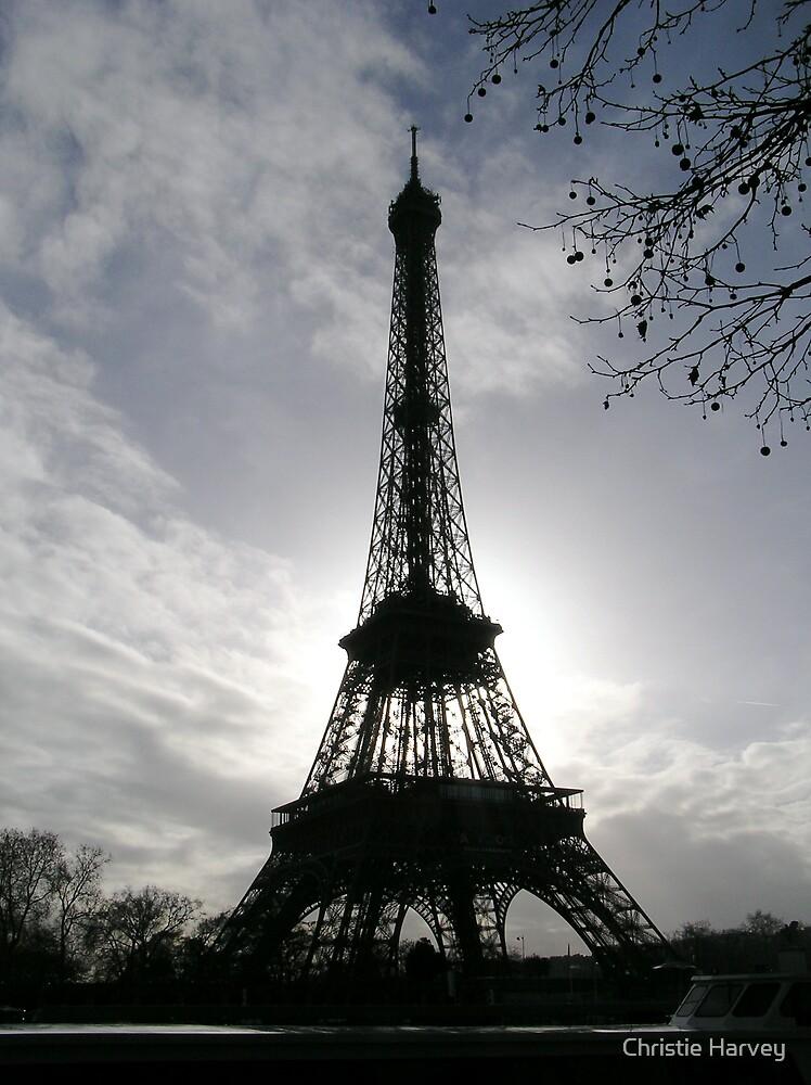 The dark and light of Paris by Christie Harvey