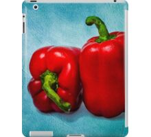 Red Bell Peppers iPad Case/Skin