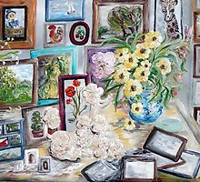 Table of an Art Enthusiast by EloiseArt