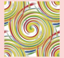 Color Swirls Kids Clothes