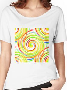 Color Swirls Women's Relaxed Fit T-Shirt